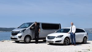 car and van transfers split