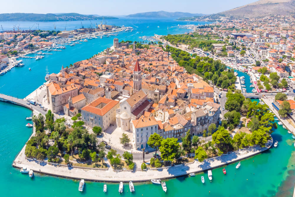 Blue Lagoon Tour with Trogir & Čiovo