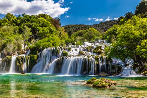 Krka waterfalls - National Park Krka